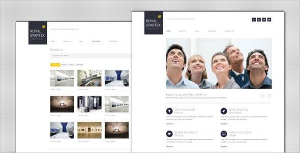 RoyalStartex - Minimalist Business WordPress Theme