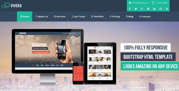 Vivera - Multi-Purpose HTML  Template - Portfolio Creative