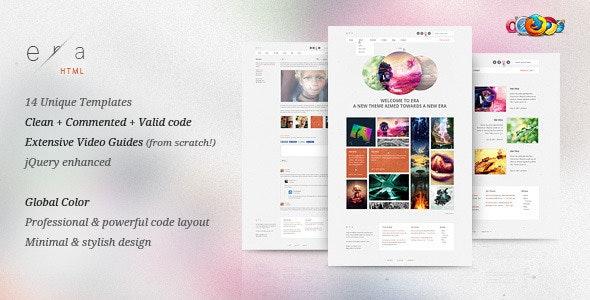 Era HTML - Visual Performance - Portfolio Creative