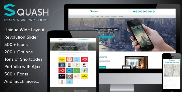 Squash - Creative Portfolio WordPress Theme - Portfolio Creative