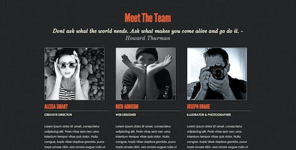 Creative Flow - Scrolling Portfolio Template