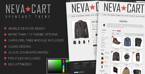 NevaCart - OpenCart Premium Theme - OpenCart eCommerce