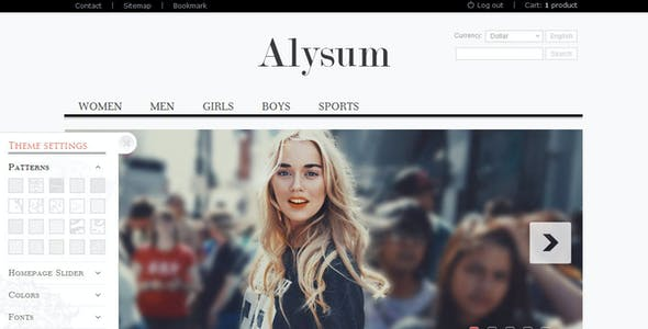 Alysum - Premium OpenCart Theme with Extras