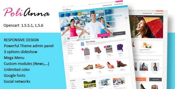 Polianna – Responsive OpenCart Theme - Shopping OpenCart
