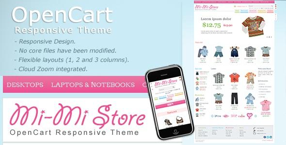 Mi-Mi Store - OpenCart Premium Theme - OpenCart eCommerce