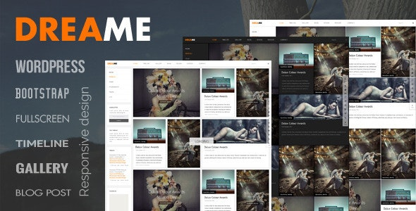 Dreame - Responsive WordPress Theme - Portfolio Creative