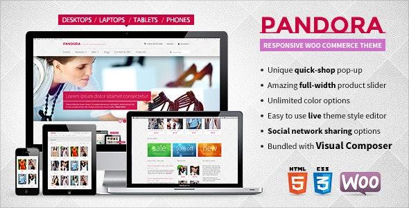 Pandora — Responsive WooCommerce HTML5 Theme - WooCommerce eCommerce