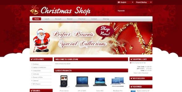 Christmas Shop Opencart Template
