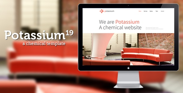 Potassium : Responsive One Page Template - Creative Site Templates