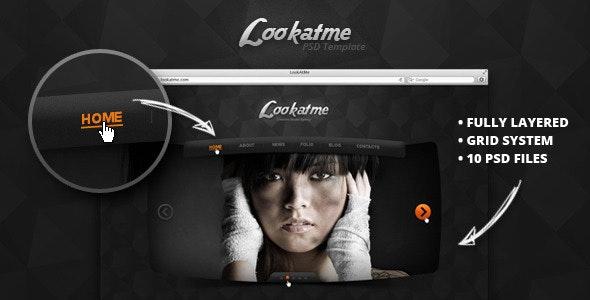 Lookatme - PSD Templates - Portfolio Creative