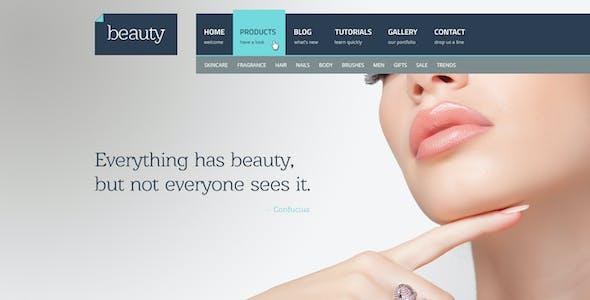 Beauty - Flat Multipurpose Psd Template