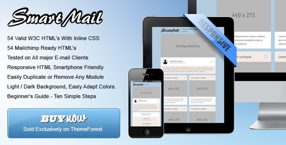 SmartMail - 108 Responsive Email Templates - Newsletters Email Templates