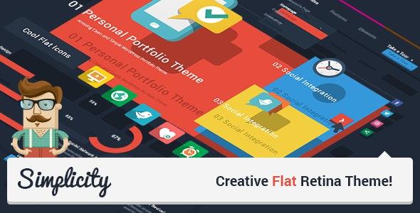 Simplicity - Creative Flat Retina Theme - Creative WordPress