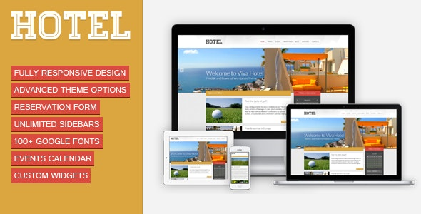 Viva Hotel | Premium Responsive WordPress Theme - Travel Retail