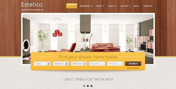 Estetico Real Estate HTML Template