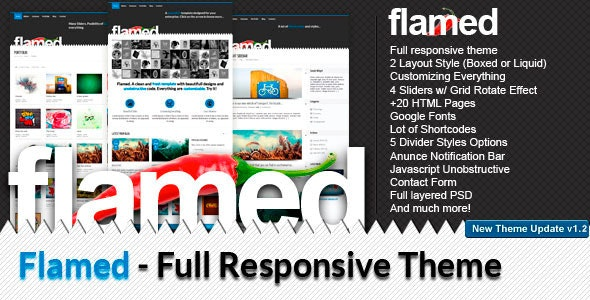 Flamed - Creative Site Templates