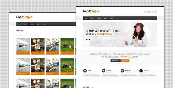GoodSimple - Clean Business WordPress Theme - Business Corporate