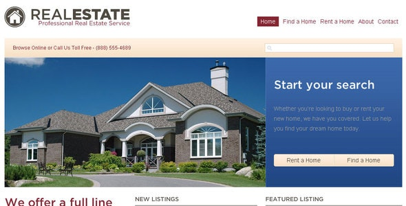 Pro Real Estate - Business Corporate