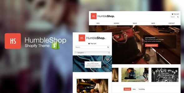 Humbleshop - Minimal Retina Shopify Theme - Fashion Shopify