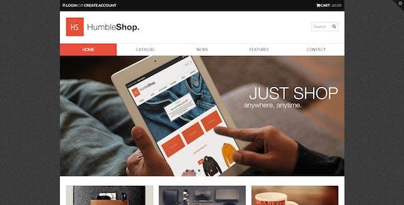 Humbleshop - Minimal Retina Shopify Theme