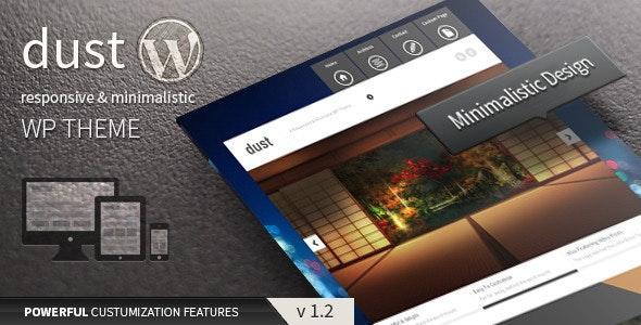 Dust - Responsive & Minimalist Theme - Blog / Magazine WordPress