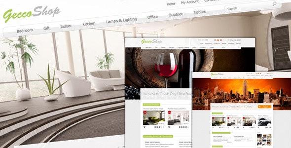 Gecco Shop - OpenCart eCommerce