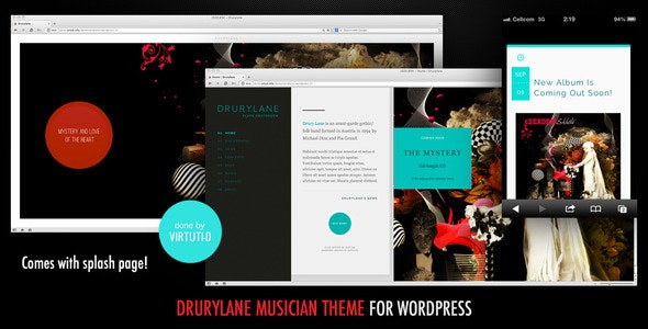 Drury Lane-Theme For Musicians And Bands + Intro - Music and Bands Entertainment