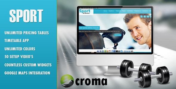 Sport & Fitness Theme for Gyms & Fitness clubs - Miscellaneous WordPress