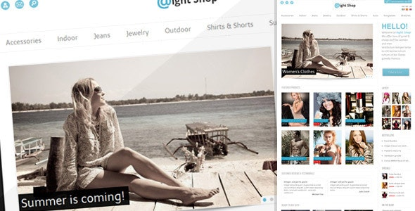 Aight Shop - Fashion OpenCart
