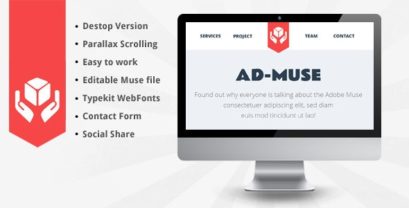 AD-MUSE Theme - Creative Muse Templates