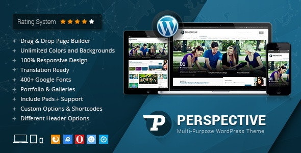 Perspective - Responsive Multi-Purpose Theme - Business Corporate