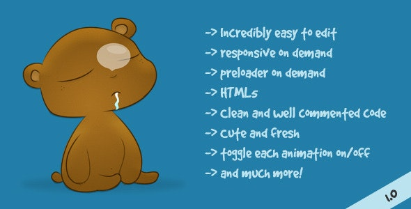 Kuma - Animated 404 not found HTML template - 404 Pages Specialty Pages