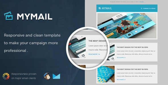 MyMail - Responsive Email Template - Email Templates Marketing