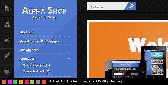 Alpha Shop - Entertainment OpenCart