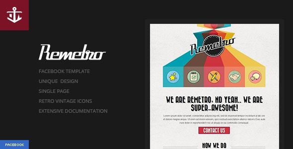 Remetro | Single Page Portfolio - Portfolio Creative