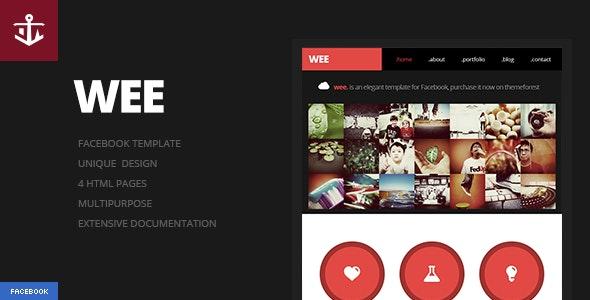 Wee   Facebook Template - Business Corporate