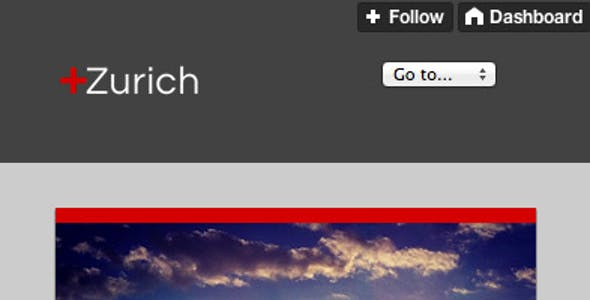 Zurich - A Responsive Tumblr Theme