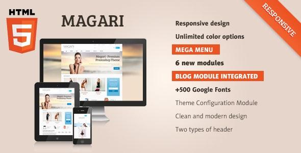 Magari - Responsive OpenCart Theme - Shopping OpenCart