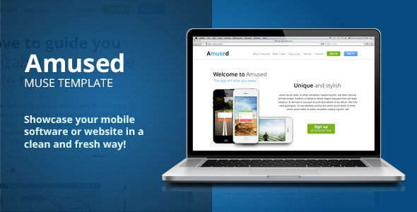Amused  - Creative Muse Templates