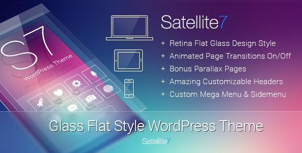 Satellite7 - Retina Multi-Purpose WordPress Theme - Corporate WordPress