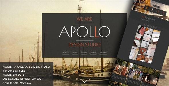 Apollo - Responsive Animated Template - Creative Site Templates