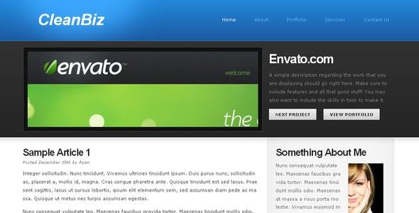 CleanBiz - Creative Site Templates