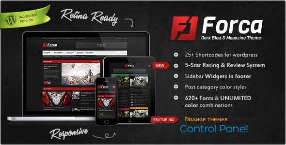 Forca - Responsive News/Magazine Theme - News / Editorial Blog / Magazine
