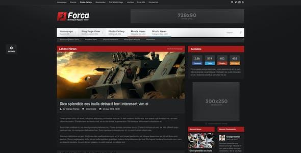 Forca - Responsive News/Magazine Theme