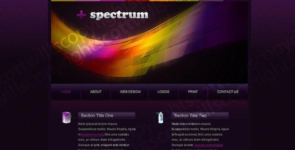 + Spectrum | Portfolio Template - Portfolio Creative