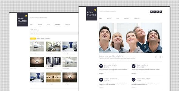 RoyalStartex - Minimalist Business HTML Template - Business Corporate