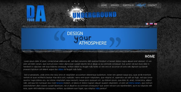 Design your atmosphere - Portfolio Creative