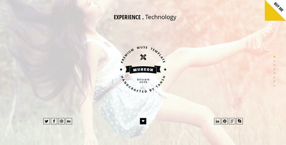 Museon One Page Muse Template