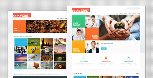 Pathaway - Modern Business WordPress Theme - Business Corporate