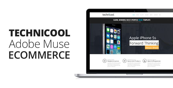 Download Technicool | Muse eCommerce Template
